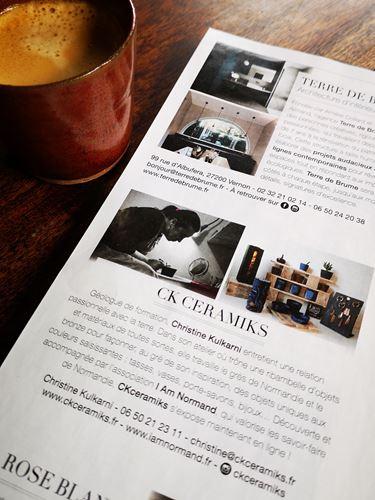 CKceramiks - P6 Carnet Normand ELLE Magazine